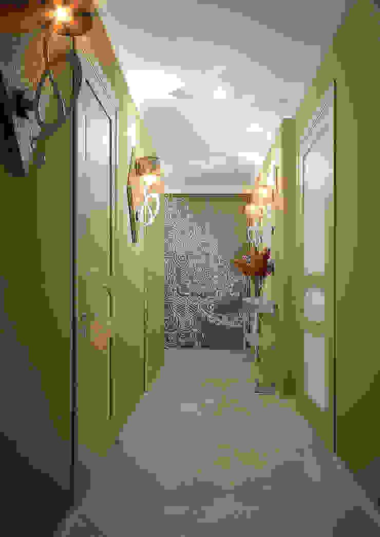 Квартира неоклассика Коридор, прихожая и лестница в классическом стиле от Инна Михайская Классический