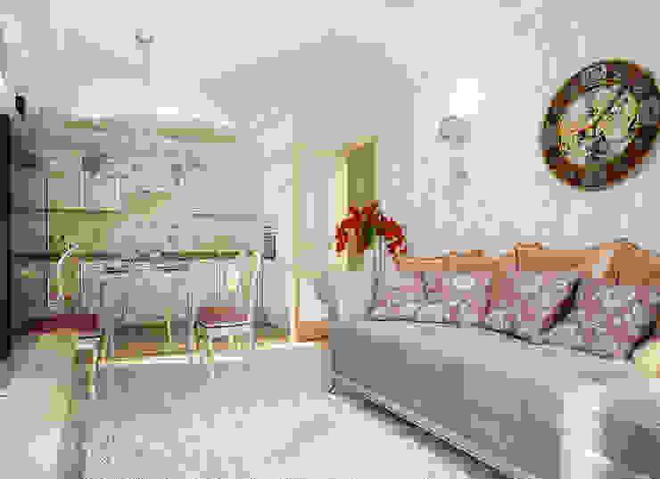 Квартира неоклассика Гостиная в классическом стиле от Инна Михайская Классический