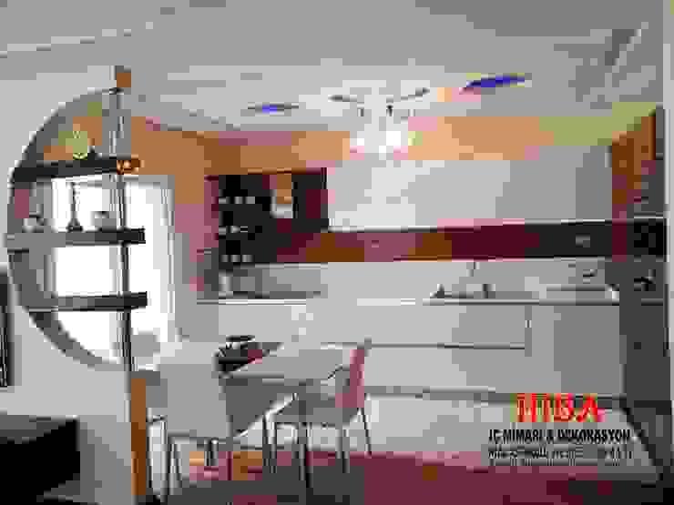 Semih Toplu Evi Modern Mutfak Hiba iç mimarik Modern