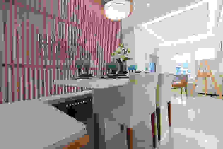 Supremo Boqueirão – Âncora Construtora Salas de jantar modernas por Renata Cáfaro Arquitetura Moderno