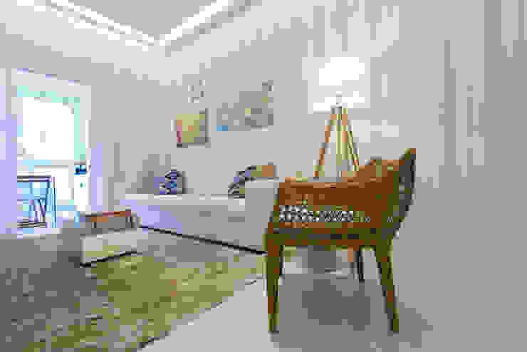 Supremo Boqueirão – Âncora Construtora Salas de estar modernas por Renata Cáfaro Arquitetura Moderno