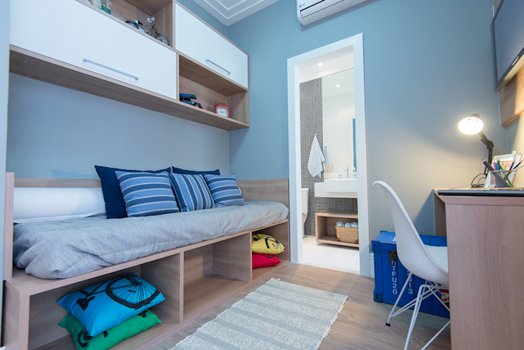 Renata Cáfaro Arquitetura Dormitorios infantiles de estilo moderno