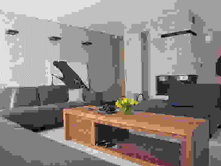 8 Nowoczesny salon od Projekt Kolektyw Sp. z o.o. Nowoczesny