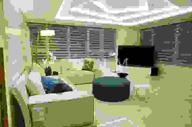 Salas de estilo moderno de (주)이지테크(EASYTECH Inc.) Moderno
