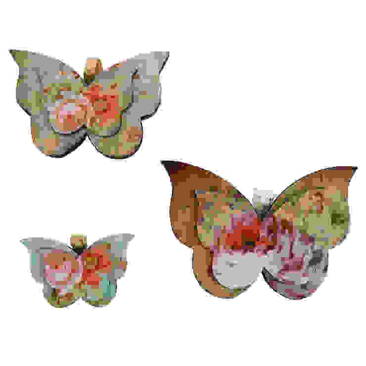 Vintage kelebek seti Orta Sofa Kırsal/Country Ahşap Ahşap rengi