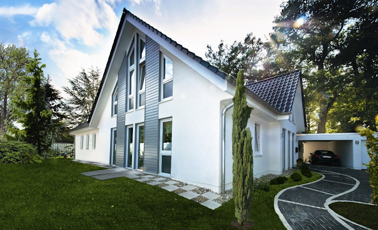 Country style house by Haacke Haus GmbH Co. KG Country