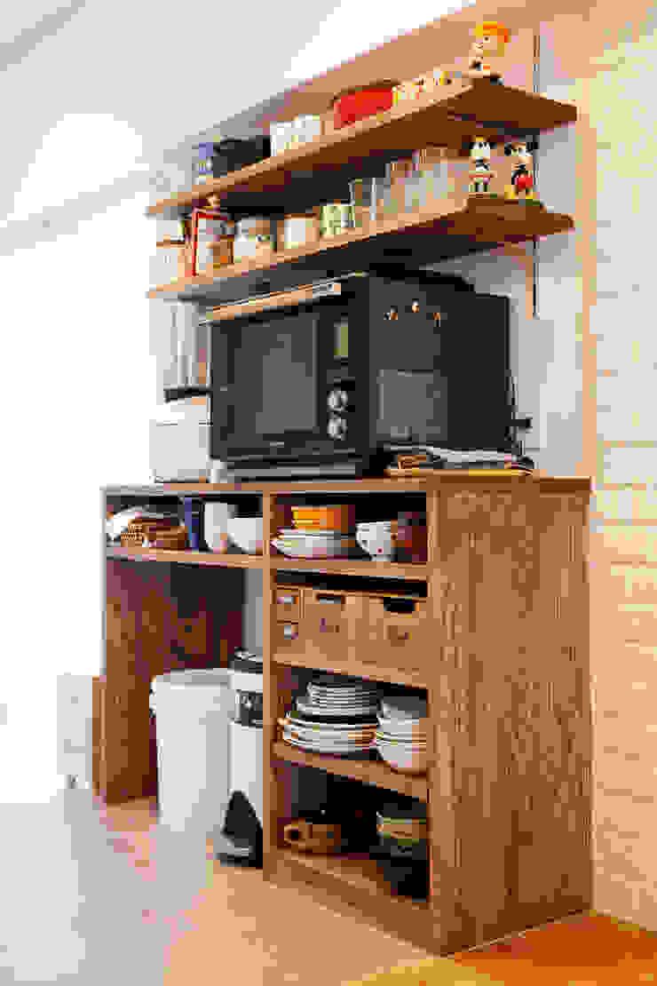 築34年マンションの劇的リノベーション! 北欧デザインの キッチン の 株式会社スタイル工房 北欧