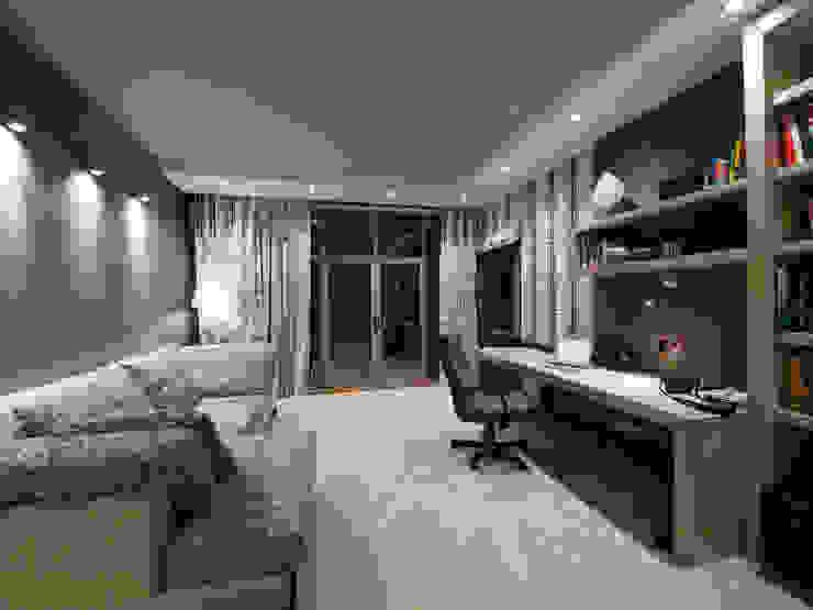 T residence Рабочий кабинет в стиле минимализм от Didenkül+Partners Минимализм