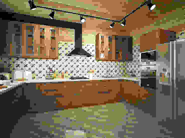 Cucina in stile rustico di homify Rustico