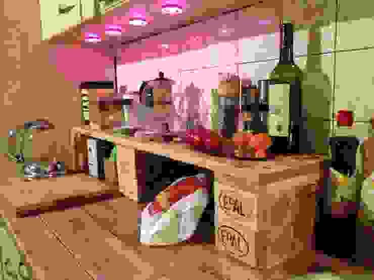 Cocina de estilo  por palettenbett.com,