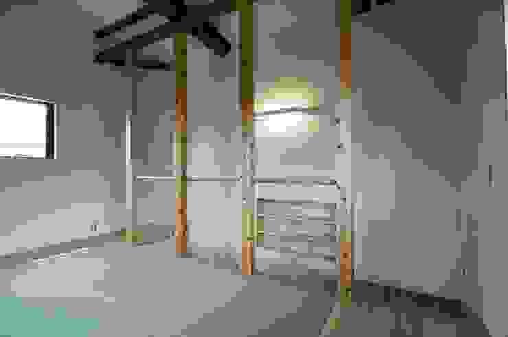 2階 たたみルーム 北欧デザインの 多目的室 の 家山真建築研究室 Makoto Ieyama Architect Office 北欧