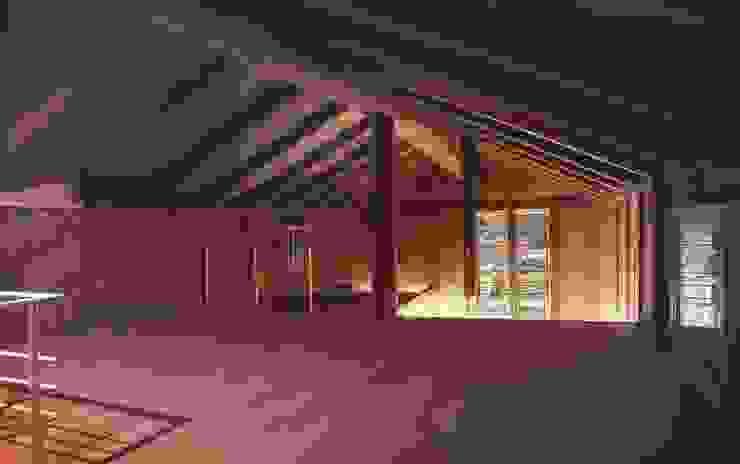 2階: 家山真建築研究室 Makoto Ieyama Architect Officeが手掛けた和室です。,カントリー