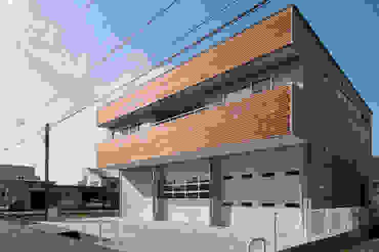 外観 モダンな 家 の 家山真建築研究室 Makoto Ieyama Architect Office モダン