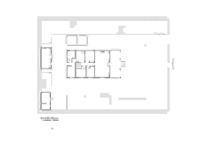 Plano estado inicial (antes) de LLIBERÓS SALVADOR Arquitectos Rústico