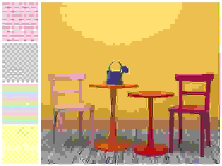 Mesas y sillas infantiles de MARIANGEL COGHLAN Moderno Madera Acabado en madera