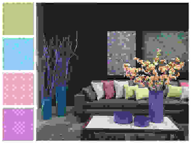 Sala y complementos Salas de estilo moderno de MARIANGEL COGHLAN Moderno