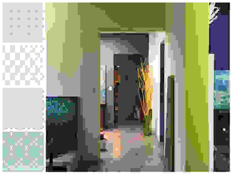 Pasillo Pasillos, vestíbulos y escaleras de estilo minimalista de MARIANGEL COGHLAN Minimalista