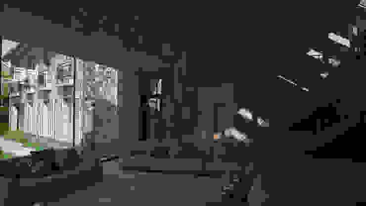 G&TA residence 2 Гостиные в эклектичном стиле от Didenkül+Partners Эклектичный
