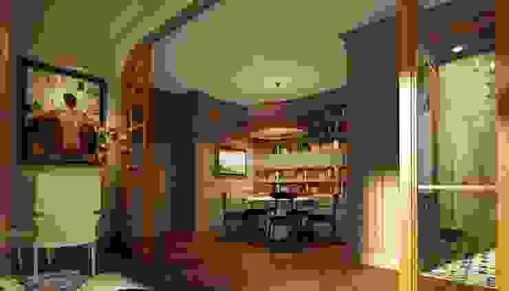 Salas de estilo ecléctico de KOSHKA INTERIORS Ecléctico