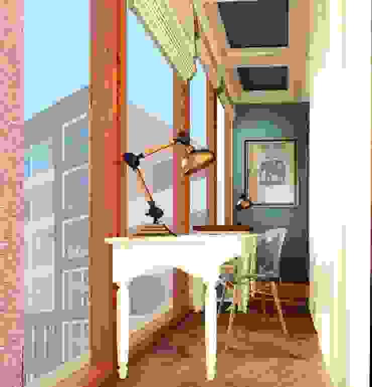 Balcones y terrazas de estilo ecléctico de KOSHKA INTERIORS Ecléctico