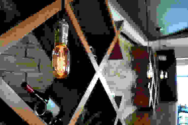 Lámpara Cordón 2. Bares y clubs de estilo industrial de Habanero Mobiliario Industrial