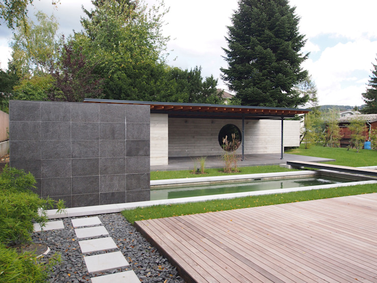 Gartengestaltung Wien 1140 Minimalistischer Garten von Peter Balogh | Architekt Minimalistisch