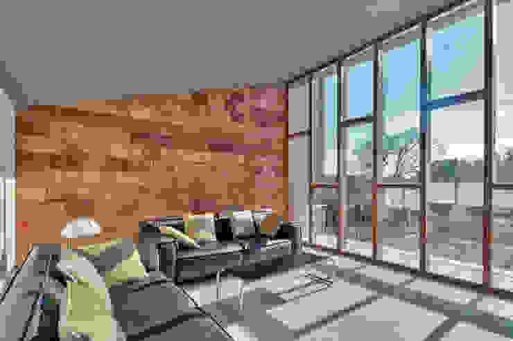Casa S1 Salones de estilo moderno de bellafilarquitectes Moderno