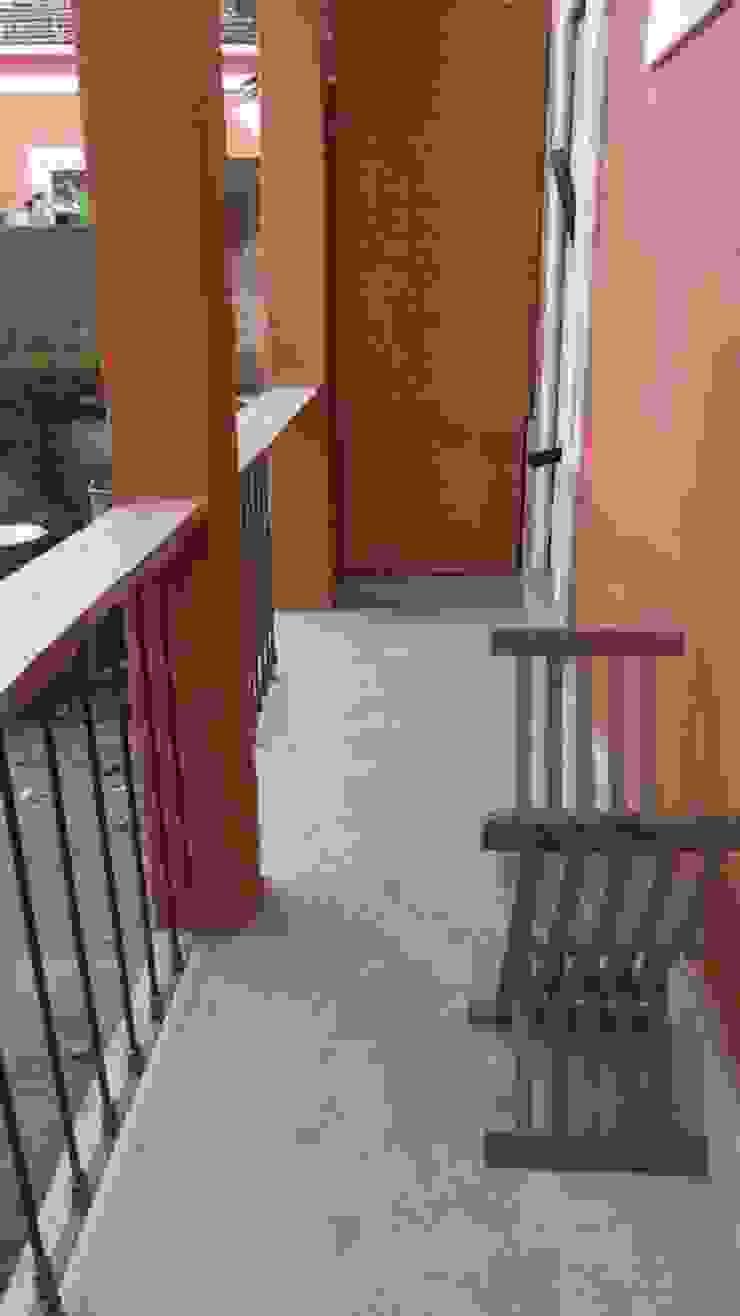 Reabilitação de Prédio Rústico em Carcavelos Casas rústicas por adoroaminhacasa Rústico
