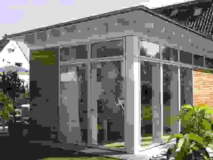 Gartenansicht Moderne Häuser von RiekeGüntscheArchitekten BDA Modern