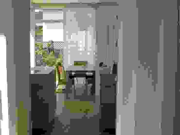 Innenansicht Anbau Moderne Esszimmer von RiekeGüntscheArchitekten BDA Modern