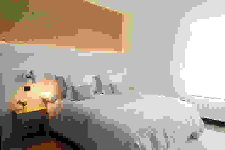 Decoración de casa moderna y actual para familia con niños Dormitorios de estilo moderno de Sube Susaeta Interiorismo Moderno