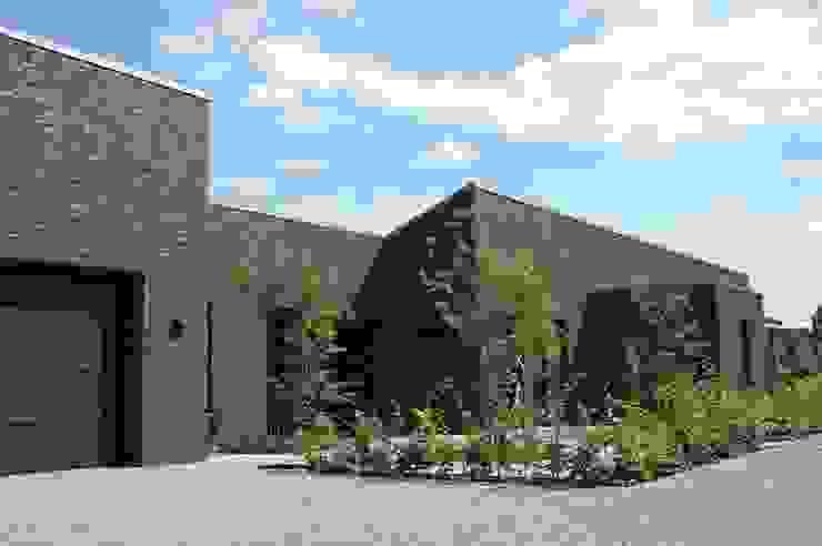 Stienestraat Moderne huizen van Harold Laenen Architectuur Modern