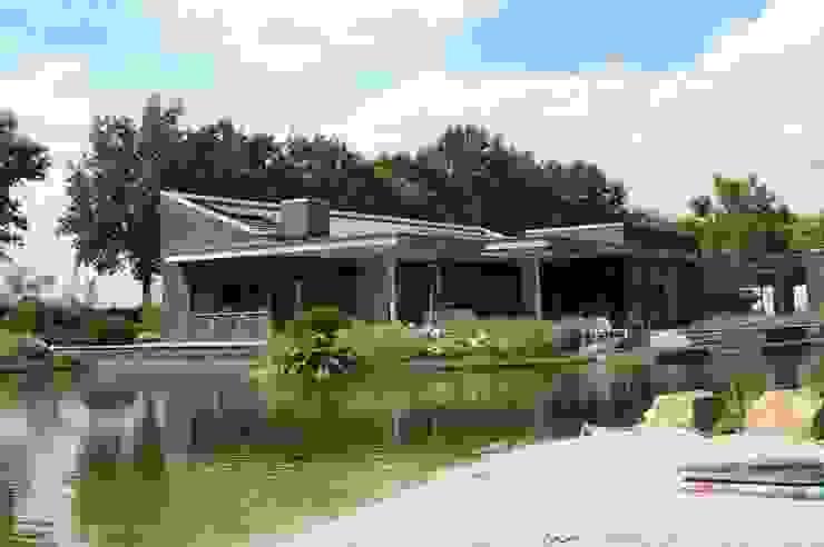 Stienestraat Moderne tuinen van Harold Laenen Architectuur Modern
