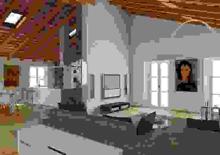 M A+D Menzo Architettura+Design 客廳沙發與扶手椅