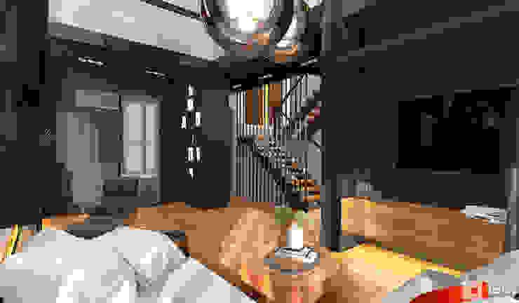 Интерьер дома в современном стиле Гостиная в стиле минимализм от GM-interior Минимализм