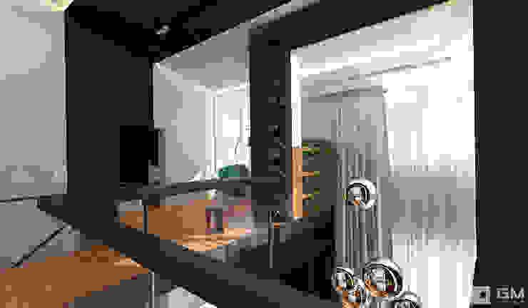 Интерьер дома в современном стиле Коридор, прихожая и лестница в стиле минимализм от GM-interior Минимализм