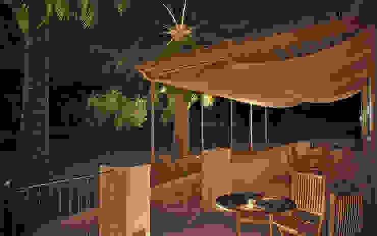 Jardines de estilo mediterráneo de ArchCGstudio - Elaborazioni in Computer Grafica per l'Architettura Mediterráneo