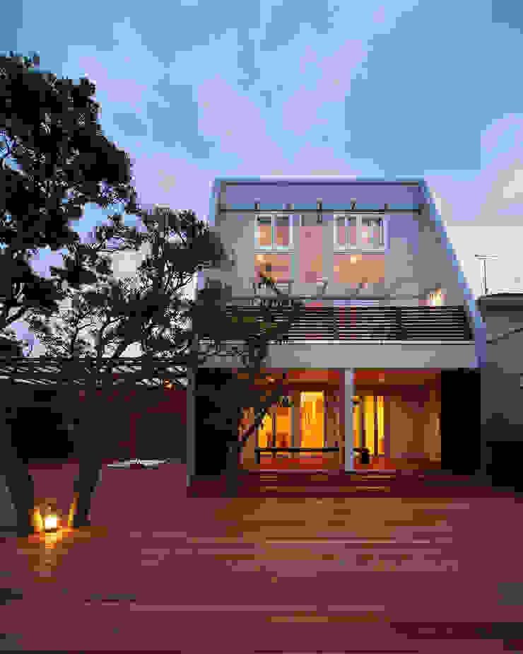 白浜の別荘 モダンな 家 の 一級建築士事務所 増田寿史建築事務所 モダン