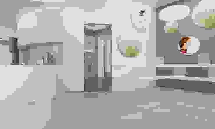 Entrada · Recepción · zona de venta Clínicas de estilo minimalista de AG INTERIORISMO Minimalista Hormigón