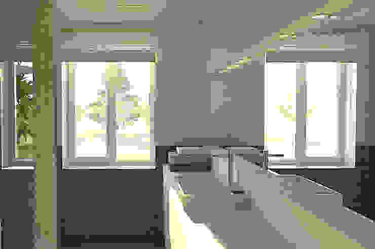 Salle de bain Salle de bain moderne par APMS architectes Moderne