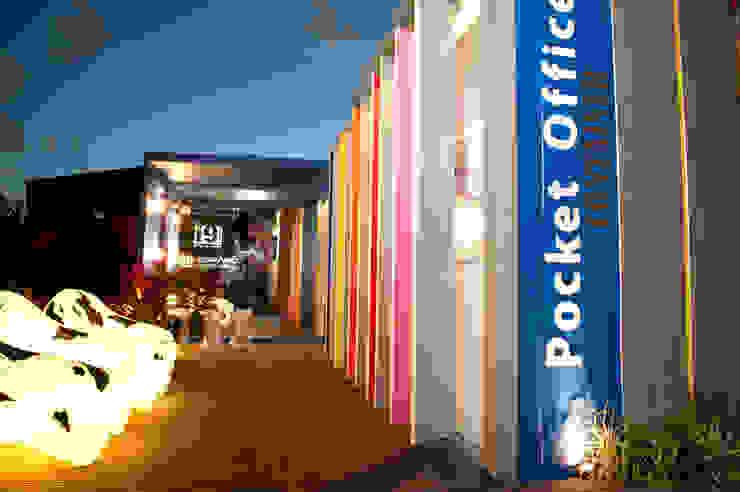 Pocket Office Lojas & Imóveis comerciais industriais por Espaço do Traço arquitetura Industrial