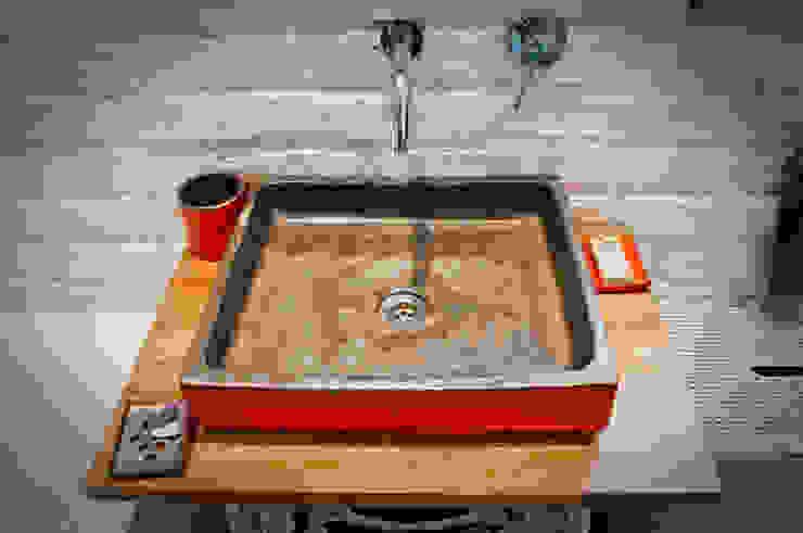 인더스트리얼 욕실 by dekornia 인더스트리얼