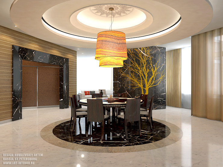 Modern dining room by ART-INTERNO Modern