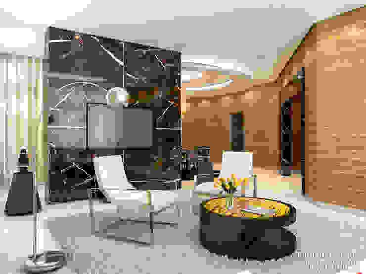 Гостиная Гостиная в стиле модерн от ART-INTERNO Модерн