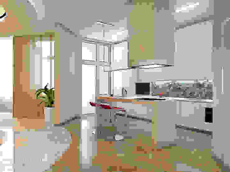 Кухня Кухня в стиле модерн от ART-INTERNO Модерн