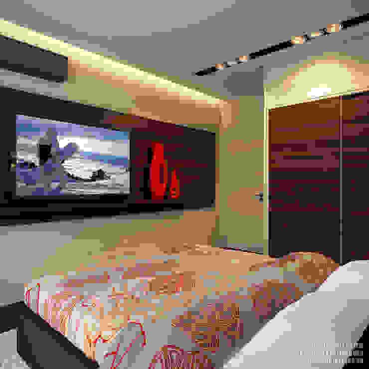 Спальня Спальня в стиле модерн от ART-INTERNO Модерн