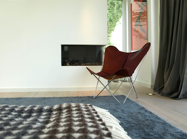 WEINBAUM Hardoy Butterfly Chair ORIGINAL por WEINBAUMS GmbH Clássico Pele Cinza