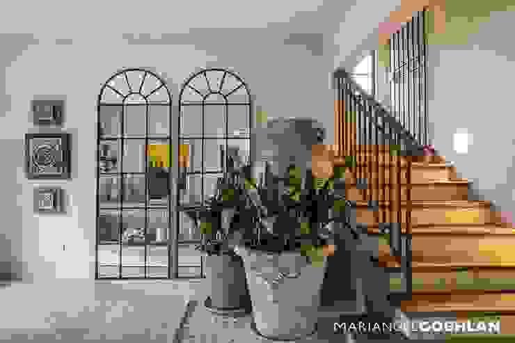 Modern Corridor, Hallway and Staircase by MARIANGEL COGHLAN Modern