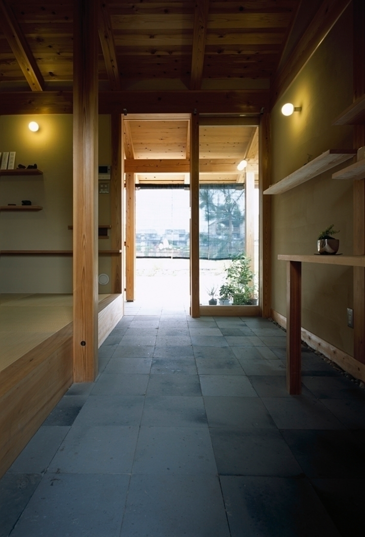 庭つくりの家 オリジナルデザインの 書斎 の 神谷建築スタジオ オリジナル