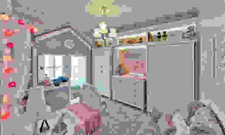 Детская комнатa в стиле кантри от Espaço do Traço arquitetura Кантри